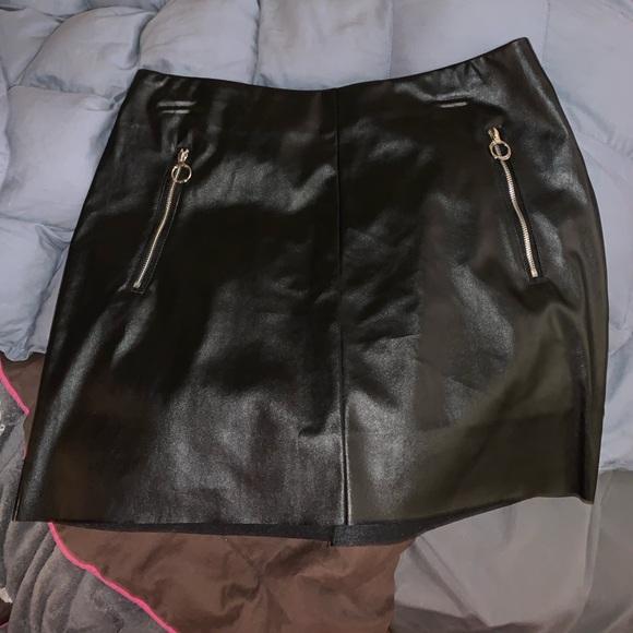 SHEIN Dresses & Skirts - Leather skirt